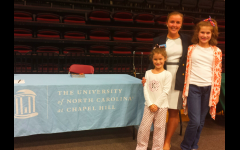 Alamance County College Fair - Warner Underwood, The University of North Carolina at Chapel Hill with two future Tarheels