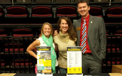 Alamance County College Fair with Austin Brass, Associate Director and Nicole Kuhns, Associate Director at Appalachian State University