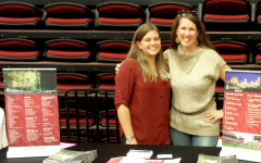 Alamance County College Fair - Katie Huber, Regional Admissions Coordinator for North Carolina, at The University of South Carolina