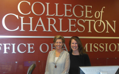College of Charleston visit with Suzette Stille, Executive Director at College of Charleston