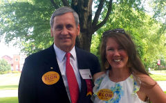 Elon University Graduation with Barry Bradberry, Associate Dean of Admissions and Financial Planning