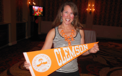 Charmin Lee at Clemson Reception