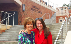 Campus visit to Lynchburg College with the Director of Admissions, Sharon Walters-Bower