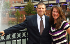 Director of Admissions at High Point University, Joe Cristy