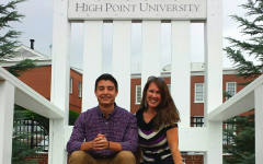 Campus visit to High Point University